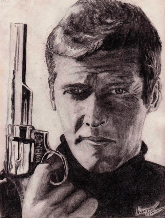 Roger Moore by shananigans10